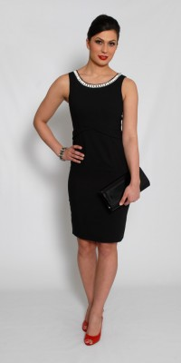 Fever Black Tiffany Dress