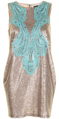 Beloved Eva Sequin Tunic