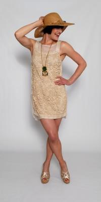 MK Barcelona Sleeveless lace Tunic