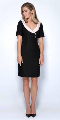 Libby London Mirren Black Dress