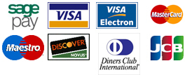 We accept these card payments