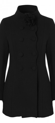 Fever Topsham Coat Black