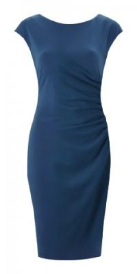Fever Portland Dress Petrol Blue