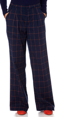 Fever Kasparov Trousers Navy/Ginger