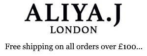 Logo Aliya.J London