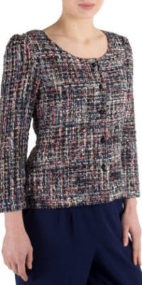 Fever Magpie Bray Cardigan Black/Multi