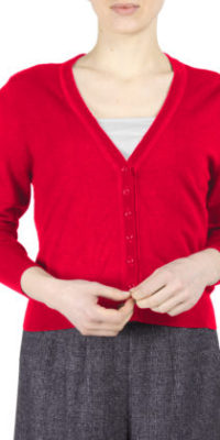 Fever Melanie cardigan Red
