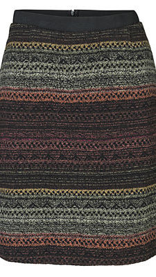 Autumn Unique Print Skirt