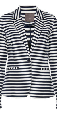 Ichi Striped Blazer