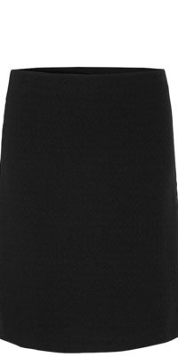 Noa Noa Black Fitted Skirt