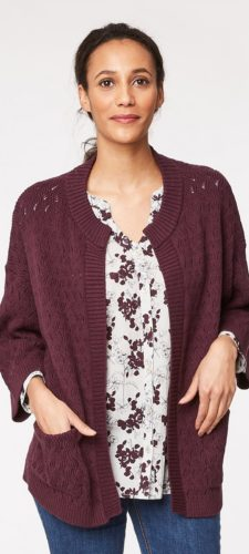 Thought Crochet Cardigan